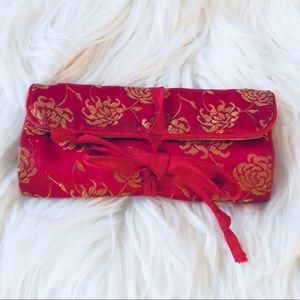 ❗️Wraparound Asian Wallet/ Cosmetic Bag